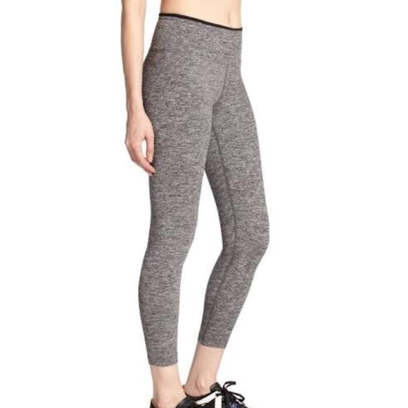 d3e99ebef2cf9 KORAL ACTIVEWEAR Pants - Koral Activewear Mystic Capri Heather Grey/ Black